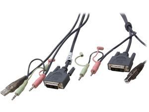 IOGEAR 16 ft. Single Link DVI-D USB KVM Cable