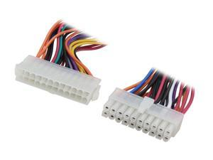 """KINGWIN PEC-03 6.5"""" 24P(F) to 20P(M) Motherboard Cable"""