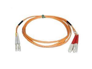 Tripp Lite N516-50M Duplex Multimode 50/125 Fiber Patch Cable (LC/SC), 50M (164-ft.)