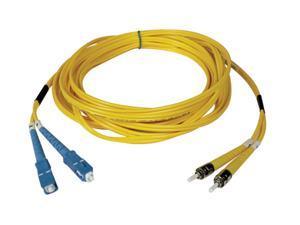 Tripp LiteN354-03MDuplex Singlemode 8.3/125 Fiber Patch Cable (SC/ST), 3M (10-ft.)