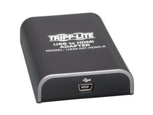 Tripp Lite USB 2.0 to HDMI Dual/Multi-Monitor External Video Graphics Card Adapter, 128 MB SDRAM, 1080p @ 60hz (U244-001-HDMI-R)