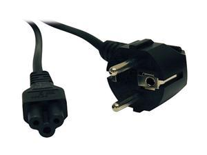 Tripp Lite Model P058-006 6 ft. 6ft C5 To Cee 7/7 Schuko Heavy Cablduty Power Cord