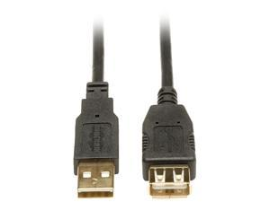 Tripp Lite 3-ft. USB 2.0 Gold Extension Cable (USB A M/F)