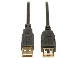Tripp Lite 16-ft. USB 2.0 Gold Extension Cable (USB A M/F)