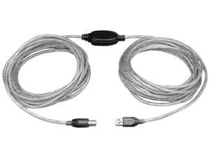 Tripp Lite 25ft. High-Speed USB2.0 A/B Active Device Cable (A Male to B Male)