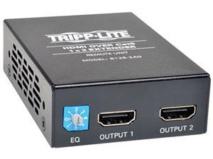 Tripp Lite B126-2A0 2-Port HDMI Over Cat5 Cat6 Audio Video Extender Remote Unit TAA