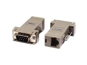 Raritan ASCSDB9M RJ-45(F) TO DB9(M) Serial Adapter