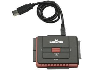 MANHATTAN 179195 Hi-Speed USB to SATA/IDE Adapter