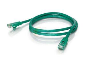 C2G 19389 150 ft. Cat 5E Green Color 350 MHz Snagless Patch Cable