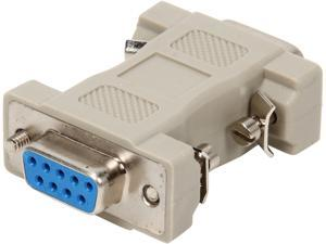 C2G 02457 MultiSync VGA HD15 Male to DB9 Female Adapter