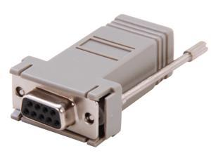 C2G 02919 RJ12 to DB9 Female Modular Adapter
