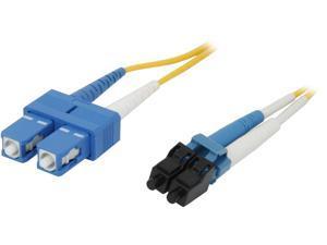 C2G 37471 49.21 ft. LC/SC Duplex 9/125 Single Mode Fiber Patch Cable
