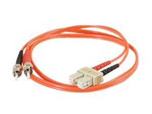 C2G 09139 32.81 ft. SC/ST Duplex 62.5/125 Multimode Fiber Patch Cable