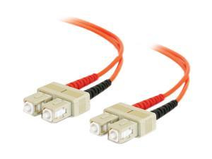 C2G 09167 32.81 ft. SC/SC Duplex 62.5/125 Multimode Fiber Patch Cable