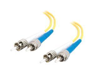 C2G 13701 9.84 ft. ST/ST Duplex 9/125 Single Mode Fiber Patch Cable