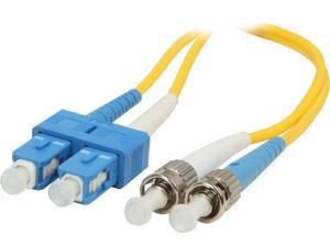 C2G 18310 3.28 ft. SC/ST Duplex 9/125 Single Mode Fiber Patch Cable