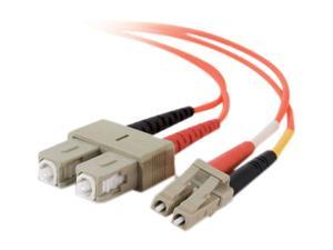 C2G 33117 13.12 ft. LC/SC Duplex 62.5/125 Multimode Fiber Patch Cable