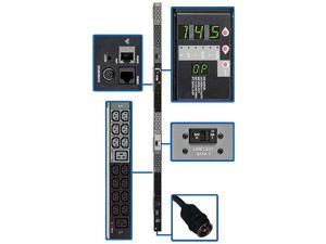 Tripp Lite Monitored Rackmount PDU with Pre-installed Mounting Buttons