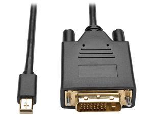 Tripp Lite Mini DisplayPort 1.2 to DVI Active Adapter Cable, Mini DP to DVI (M/M), 1920 x 1080/1080p, 3 ft. (P586-003-DVI-V2)