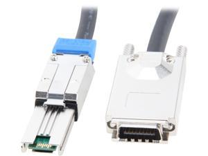 StarTech Model ISAS88702 6.56 ft. [2 m] External Serial Attached SCSI SAS Cable - SFF-8470 to SFF-8088