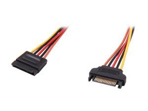 "StarTech SATAPOWEXT12 12"" 15 pin SATA Power Extension Cable"