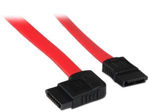 StarTech.com 18in SATA to Right Side Angle SATA Serial ATA Cable