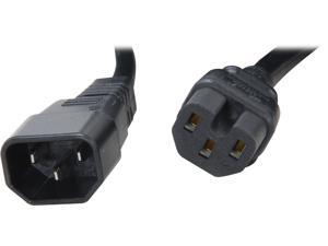 StarTech Model PXTC14C156 6 ft. 14 AWG Computer Power Cord - IEC C14 to IEC C15 F-F