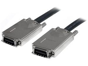 StarTech Model SAS7070S200 6.56 ft Infiniband External SAS Cable - SFF-8470 to SFF-8470