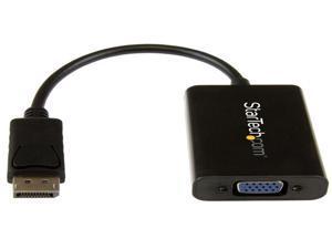 "StarTech DP2VGAA 8"" Displayport to VGA Active Converter Adapter"