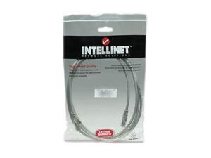 Intellinet 319812 14 ft. Cat 5E Grey UTP Network Cable