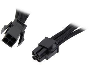 "BitFenix BFA-MSC-4ATX45KK-RP 17.72"" (45cm) Intel ATX-4 pin Extension Cable M-F"