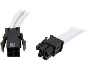 "BitFenix BFA-MSC-4ATX45WK-RP 17.72"" (45cm) Intel ATX-4 pin Extension Cable M-F"