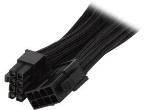 "BitFenix BFA-MSC-8EPS45KK-RP 17.72"" (45cm) Intel EPS 8-pin Extension Cable M-F"