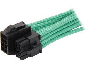 """BitFenix BFA-MSC-8EPS45GK-RP 17.72"""" (45cm) Intel EPS 8-pin Extension Cable M-F"""