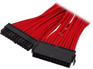 "BitFenix BFA-MSC-24ATX45RK-RP 11.81"" (30cm) ATX 24-pin Extension Cable M-F"