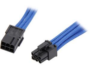 "BitFenix BFA-MSC-6PEG45BK-RP 17.72"" (45cm) 6-pin Video Card Extension Cable M-F"