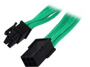 "BitFenix BFA-MSC-6PEG45GK-RP 17.72"" (45cm) 6-pin Video Card Extension Cable M-F"