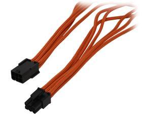 "BitFenix BFA-MSC-6PEG45OK-RP 17.72"" (45cm) 6-pin Video Card Extension Cable M-F"