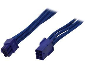 "BitFenix BFA-MSC-6PEG45BB-RP 17.72"" (45cm) 6-pin Video Card Extension Cable M-F"