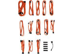 BitFenix ALCHEMY 2.0 PSU CABLE KIT for Seasonic KM3 and XM2 Power Supply, SSC-SERIES - Orange (BFX-ALC-SSCOO-RP)