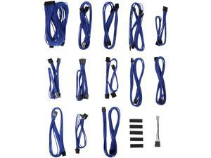 BitFenix BFX-ALC-SSCBB-RP ALCHEMY 2.0 PSU CABLE KIT for Seasonic KM3 and XM2 Power Supply, SSC-SERIES – BLACK/Blue
