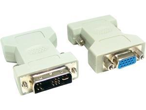 Micro Connectors G08-215 DVI Analog Male to VGA Female Adaptor