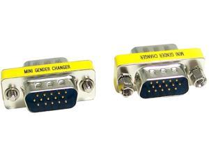 Micro Connectors G05-300SL VGA HD15 M/M Gender Changer