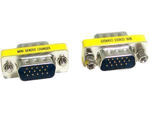 Micro Connectors G05-300SL VGA HD15 M/M Gender Changer