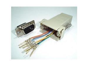 Digi International 76000671 RJ45 to DB-9 Console Adapter