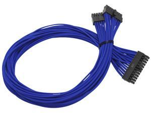 Individually Sleeved Cable Set for EVGA B2/G2/P2 Power Supply / PSU (Blue) - EVGA 100-CU-1300-B9