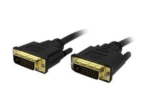 Comprehensive DVI-DVI-10ST Black 10 ft. Connector Type 1: DVI-D Male  Connector Type 2: DVI-D Male M-M DVI-D Dual Link DVI Cable