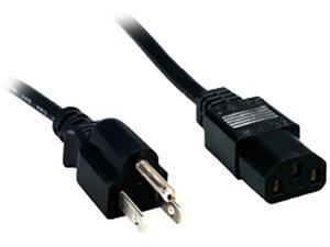 Comprehensive Model PWC-BK-15 15ft. Standard PC Power Cord 18/3 SVT