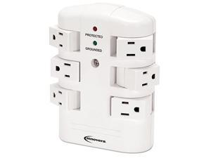 Innovera IVR71651 6 Outlets 2160 J Wall Mount Surge Protector