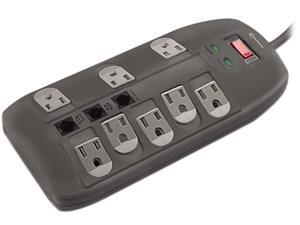 Innovera IVR71656 6' 8 Outlets 2160 Joules Surge Protector